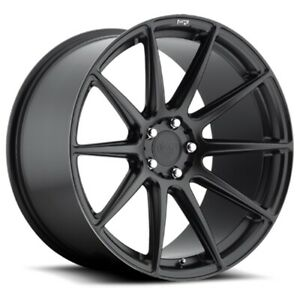 New Staggered Niche Wheels M147 Essen 20x9 20x10 5 5x120 35 40 Matte Black