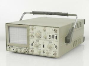 Vintage Leader 1021 Dual Channel 20mhz Oscilloscope