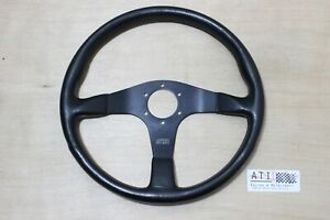 Rare Vintage Impul 913 Momo Leather Steering Wheel 350mm 35cm Made In Italy