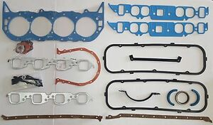 Pc Big Block Chevy Complete Gasket Set For 65 79 Bbc Chevy Engines 396 402 454