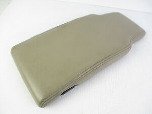 Lincoln Town Car Center Console Arm Rest Lid Top Cover Tan Beige Leather 03 11