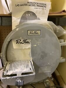 Ray Foster Dental Model Trimmer Lab Master Model 12 Used Local Pick Up Only
