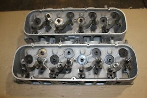 Big Block Chevy Snowflake Rectangular Port Aluminum Cylinder Heads 14011077
