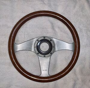 Momo Wooden Steering Wheel 340mm