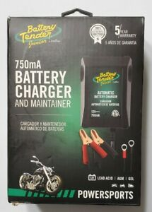 New Deltran Battery Tender Jr 12v 750 Ma Maintainer Charger Motorcycle Atv