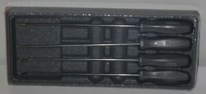 Snap on Pick Set Long Shaft Asal204bdt titanium Hard Handles New Sealed