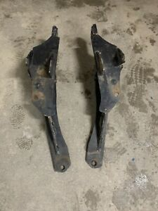 Fisher Minute Mount Plow Push Plates 7169 Good Shape 3rd Generation