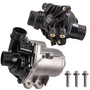 Electric Engine Water Pump W Thermostat For Bmw N54 N55 3 0l 135i 335i 535i New