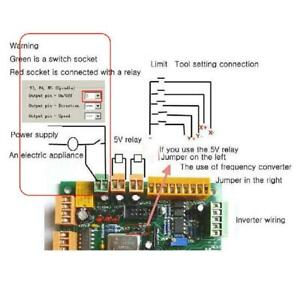 Usbcnc 2 1 4 Axis Usb Cnc Controller Interface Board Cncusb Mk1