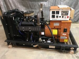 30 Kw Generator Natural Gas Propane 120 240 Volt Single Phase Generac Gm 4 3 V6