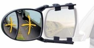 2 Reese Cequent 7034200 Dual View Clip On Adjustable Trailer Towing Mirrors