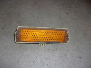 Nos 1971 1972 1973 Ford Mustang And Mach 1 Front Sidemarker Light Lamp