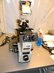 Olympus Imt 2 Microscope With Splan 4pl And Splan 10 Pl Objectives For Parts