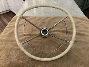 1957 58 Mercury Turnpike Cruiser Accessory Steering Wheel And Horn Ring