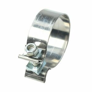 2 5 2 1 2 Stainless Steel Band Exhaust Clamp buckle Type powerful t409 New