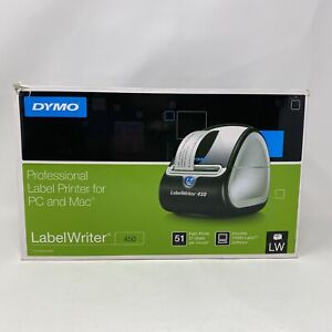 Dymo Labelwriter 450 Thermal Label Printer In Box Tested Working Good Shape