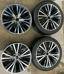 2017 2019 Infiniti Q60 19 Inch Wheels Rims Set With 2 Tires Ml7 wh543