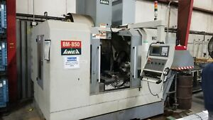 Awea Bm 850 2005 With Integrated 4th Axis
