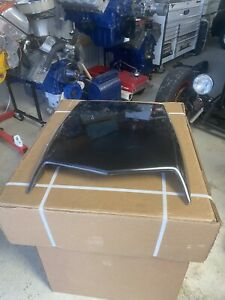 1969 1970 Ford Mustang Boss 429 Hood Scoop With Flapper Nice Concourse W Cables