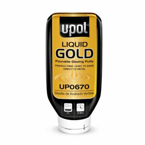 Upol 670 Liquid Gold Pourable Glazing Putty
