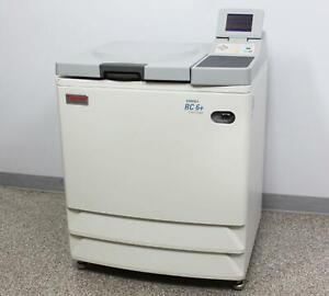 Thermo Fisher Sorvall Rc 6 Plus Refrigerated Floor Centrifuge 46910 W Warranty