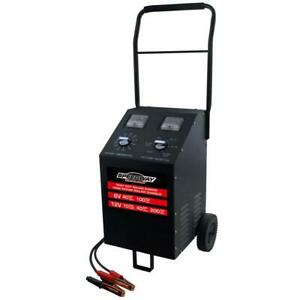 100 Amp Rolling Battery Charger Oil Resistant Rubber Wheels With Multiple Gauge