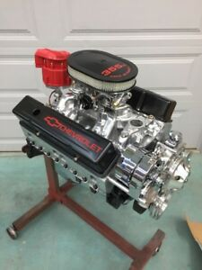 350 R Street Motor 475hp Roller Turnkey Prostret Chevy Crate Engine New Gm Block