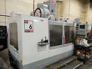 Haas Vf6 With Full 4th Axis