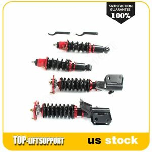 For 2002 2006 Acura Rsx Dc5 2d 2 0l Coilover Shocks Strut Kits Adjustable Height