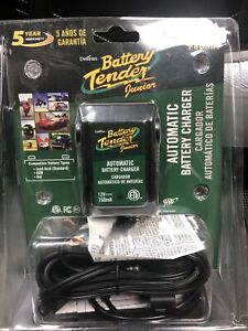 Deltran Battery Tender Jr 12v 750ma Maintainer Charger New With Pigtails