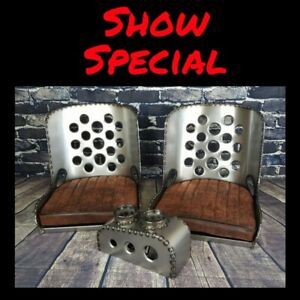Iron Ace 17 Hot Rod Rat Rod Bomber Seats Show Special