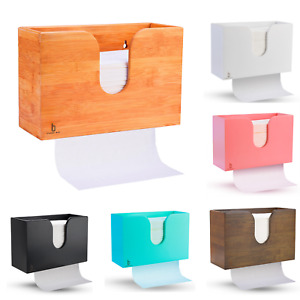 Cozee Bay Paper Towel Dispenser For Home Or Commercial Wall Mount Or Countertop