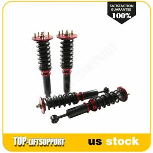 For 1998 2002 Honda Accord 99 03 Acura Tl Coilover Shocks Struts Kits Adj Height