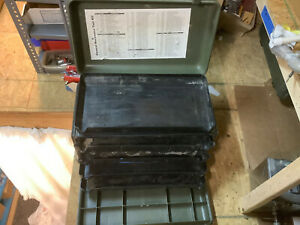 Us Military Kipper Tools Case Rolling Tool Box tool Box Inc Great Condition