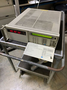 Agilent 5071a Cesium Frequency Standard Read