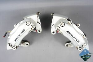 Mercedes W209 Clk55 S600 Cl600 Amg Front Brake Caliper Calipers Set Brembo Oem