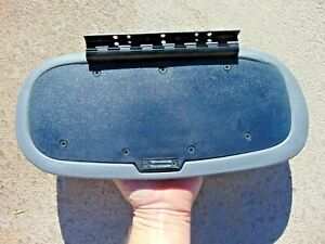94 04 Ford Mustang Center Console Armrest Cover Lid Magnetic Latch Gray Oem