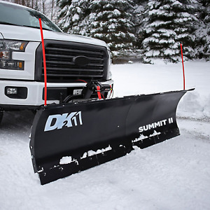 Dk2 88 X 26 Summit Snow Plow Kit Electric Winch Mounting System Brand New