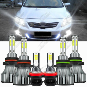 Para For Toyota Corolla 2009 2010 2011 2012 Combo New Led Faro luces Antiniebla