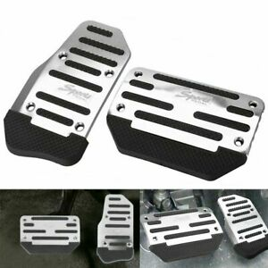 Universal Non slip Automatic Gas Brake Foot Pedal Pad Cover Car Accessories New