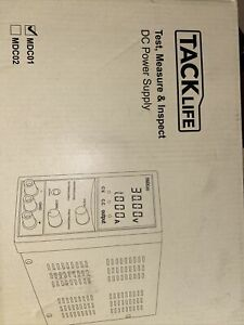 Tacklife Mdc01 Dc Power Supply Variable Switching Regulated Test Measure Inspect