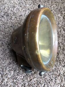 C a Vandervell Co acton Vale London Electric Cav Headlight Brass Model Fs