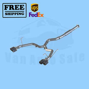 Exhaust Sys Mbrp Fit Sub Impreza Wrx Sedan 2 0l Wrx Sti Sedan 2 5l 2011 14