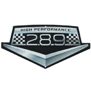 Ford Mustang High Performance 289 Metal Signs Man Cave Garage Decor Oil Can