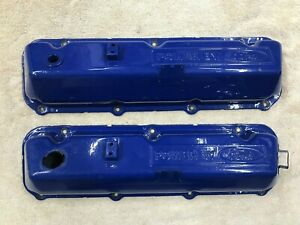69 78 Set Of Ford Oem 429 460 Power By Ford Valve Covers Torino F150 Tbird Nice