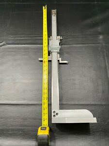 Mitutoyo 514 173 Vernier Height Gage 18 x450 Used Great Shape