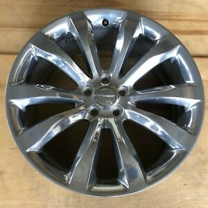 2014 2019 Chrysler 300 Wheel Rim Factory Original 20x8 Oem 2540 Polished W Cap