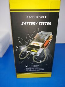 Battery Load Tester 6 And 12 Volt Simple To Use