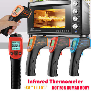 No contact Digital Thermometer Infrared Temperature Gun Ir Laser Point 58 1112