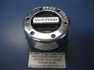 Warn 13112 Cap Only 4wd Locking Hubs Set Dana Gm Ford 1 2 3 4 Ton 19 Spline Axle